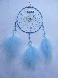 Butterfly Dreamcatcher Blue