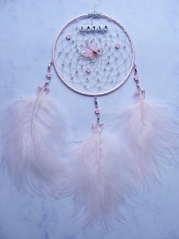 Butterfly Pink Dreamcatcher