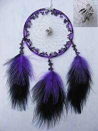 Dragon Dreamcatcher Amethyst