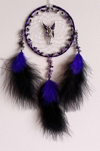 Fairy Amethyst Dreamcatcher