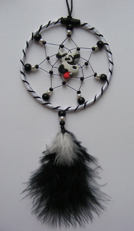 Silly Cow Mini Dreamcatcher
