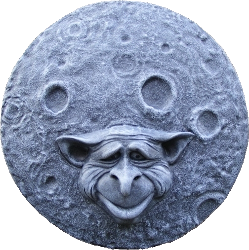 Goblin Moon Wall Plaque