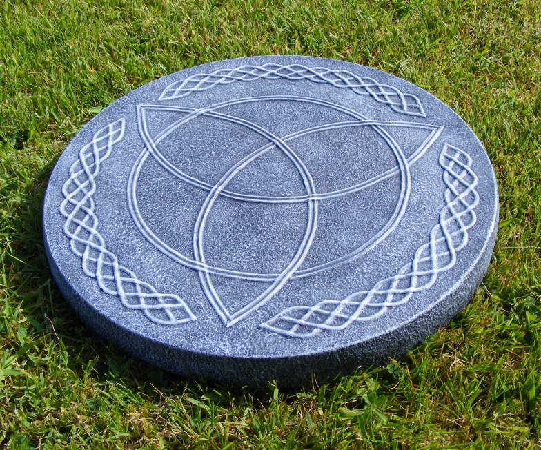 Triquetra Stepping Stone